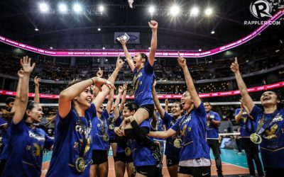 Heartbreak match: Ateneo overpowers UST to clinch UAAP title