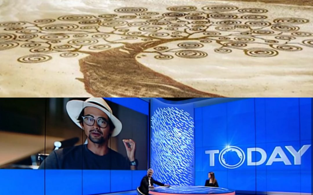 Dubai-based Pinoy Sand Artist reaches international audiences, featured at Italian national media