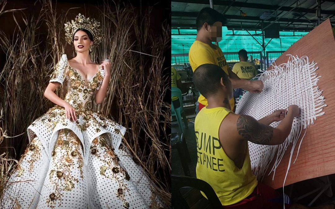 VIRAL: Bb. Pilipinas candidate's costume woven by inmates