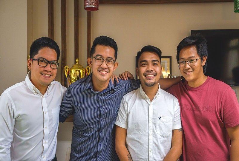 LOOK: Four Cebu bar topnotchers reunite after announcement of results
