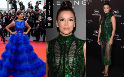 LOOK: Dubai-based Pinoy fashion designer's work featured at Cannes Film Festival