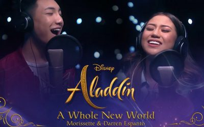 Morissette Amon, Darren Espanto handpickedbyDisney to sing 'A Whole New World'