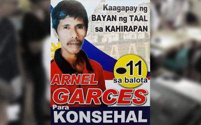Batangas town votes gravedigger as councilor