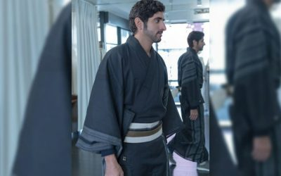 LOOK: Sheikh Hamdan bin Mohammed dons kimono at Japan