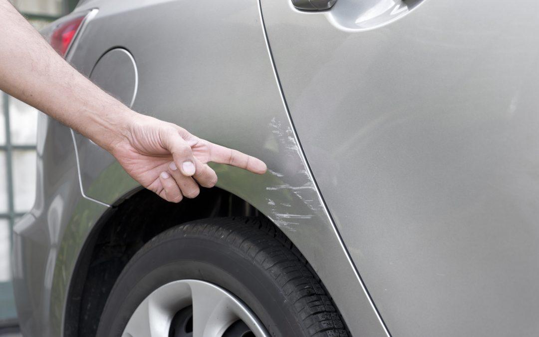 Woman damages fiancé's car over argument