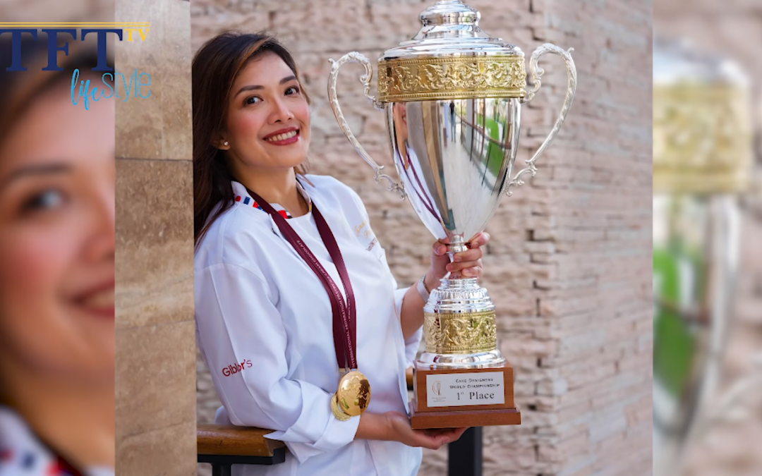 WATCH: Filipina chef shares heartwarming story on winning International Cake designing competition