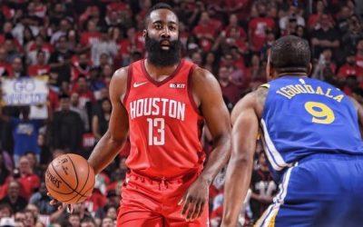 Rockets keep Warriors at bay, ties semi-finals at 2-2