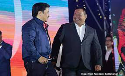 Jinggoy Estrada congratulates Nancy Binay, JV Ejercito slams the 'bitter' one