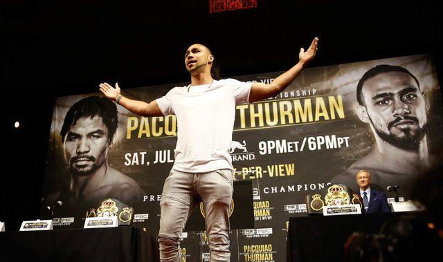 Thurman says he will 'crucify' Pacquiao