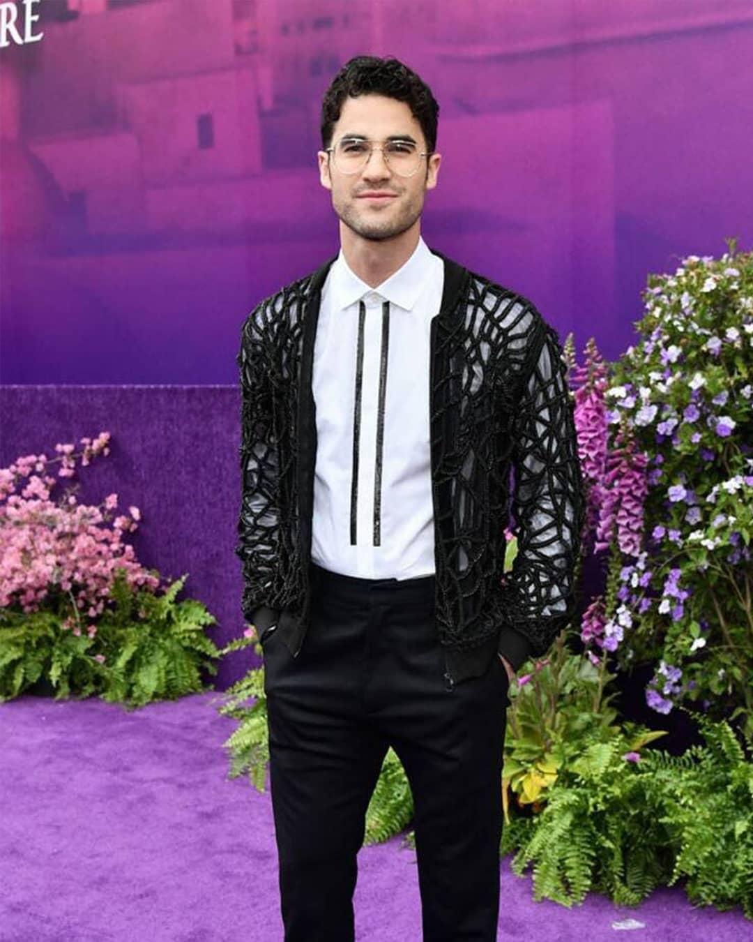 Look Filipino Designer S Jackets Worn By Hollywood Stars Darren Criss Mena Massoud The Filipino Times