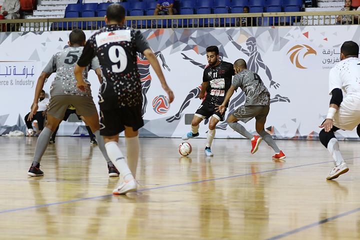 Electrifying heavy-duty showdown at Sharjah Ramadan Futsal Championship