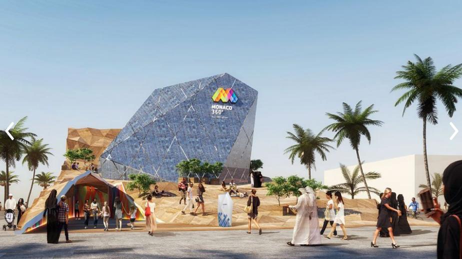 WATCH: Enter Monaco's Kaleidoscopic Garden of Opportunities at Dubai Expo 2020