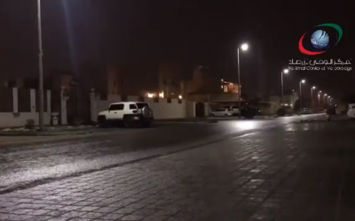 WATCH: Light rain experienced in UAE over weekend, cloudy skies expected this week
