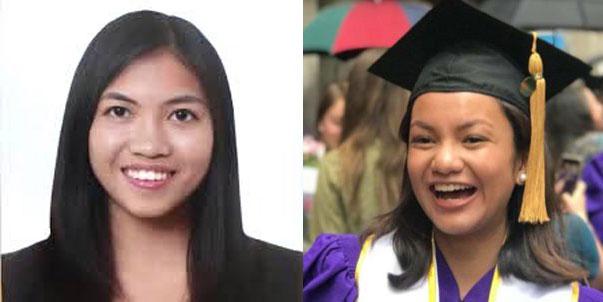 Two Pinays graduate summa cum laude at Wharton, NYU