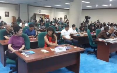 Four neophyte senators attend senate orientation