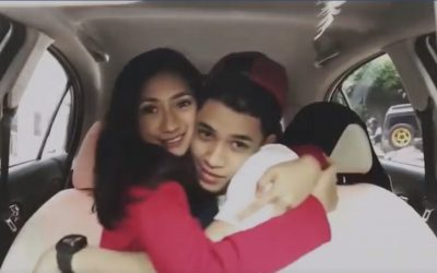 Transportation department calls attention of 'sweet'couplein viral video