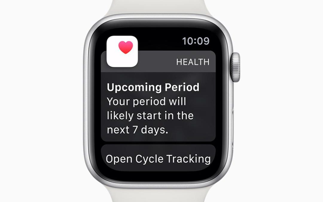 Apple Watch now tracks menstrual cycle