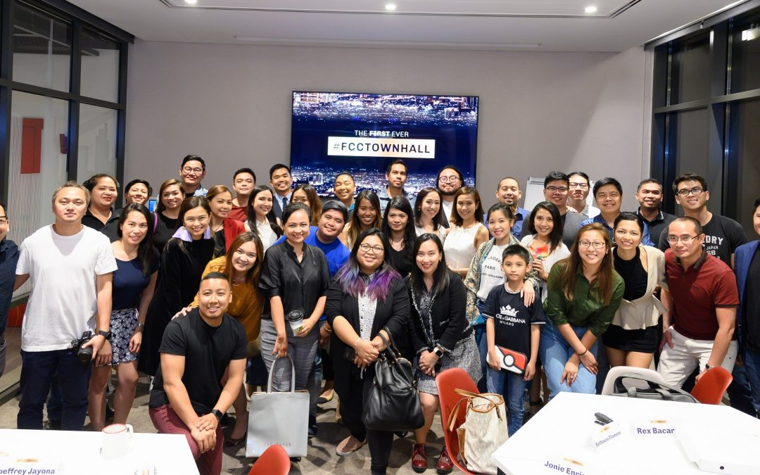 The Filipino Communicators Collective holds first ever townhall meeting