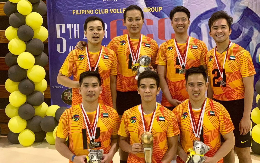UAE team wins championship at 5th Inter GCC All-Filipino Volleyball Tournament in Bahrain