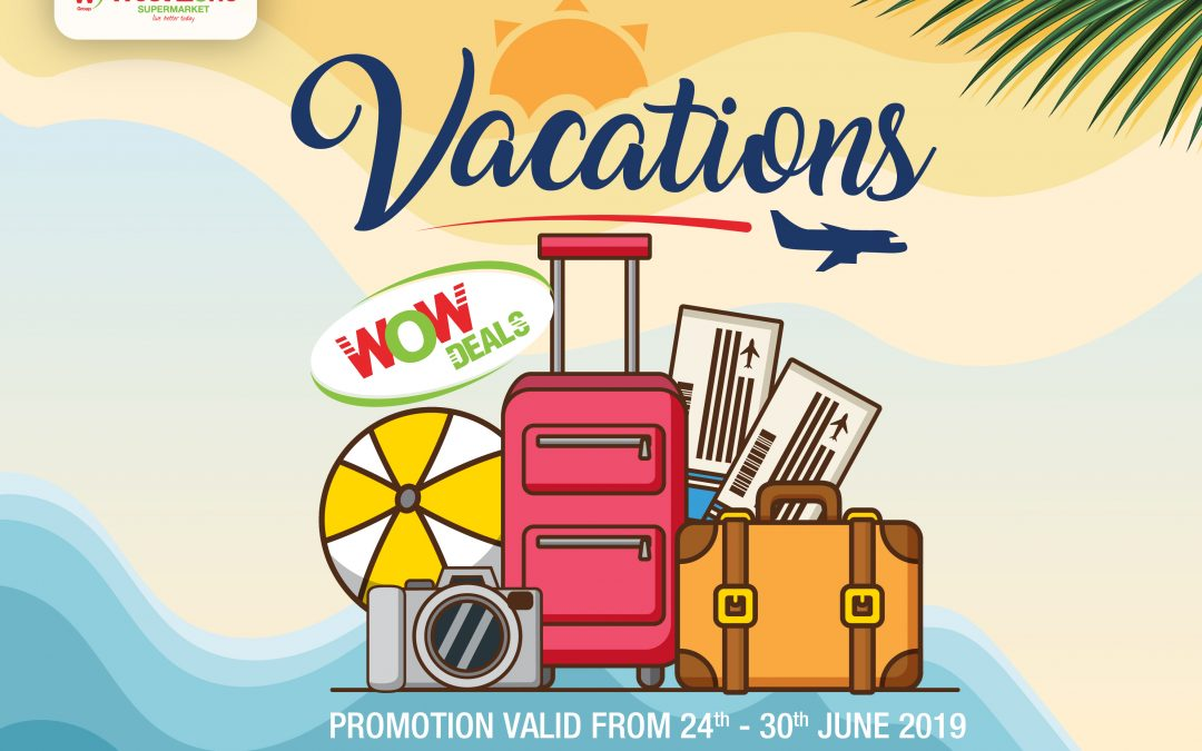 West Zone welcomes the summer Vacation Wow Deals!