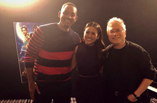 "Morissette on meeting Will Smith, Alan Menken: ""Never in my wildest dream"""