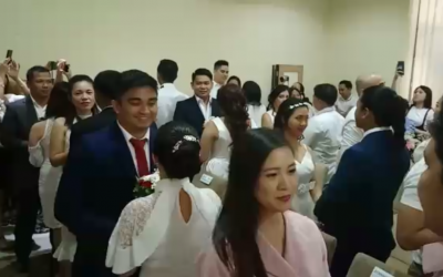 26 Dubai OFW couples tie the knot in group wedding