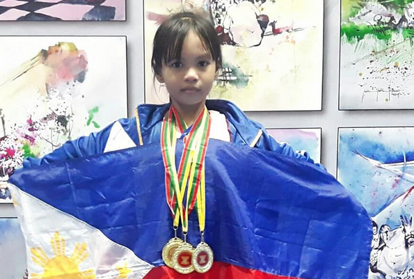Filipina kid brings home 3 silver medals from ASEAN chess competition