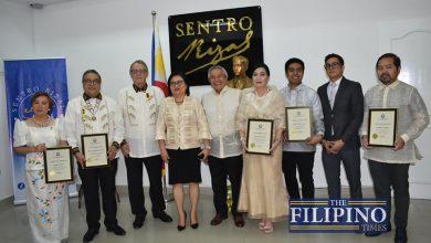 Photo of LOOK: PH Embassy inaugurates Sentro Rizal; recognizes Filipino community changemakers