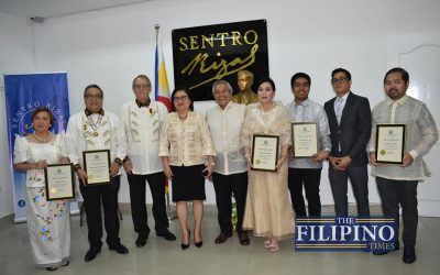 LOOK: PH Embassy inaugurates Sentro Rizal; recognizes Filipino community changemakers