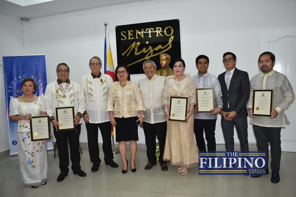 LOOK: PH Embassy inaugurates Sentro Rizal; recognizes Filipino community changemakers