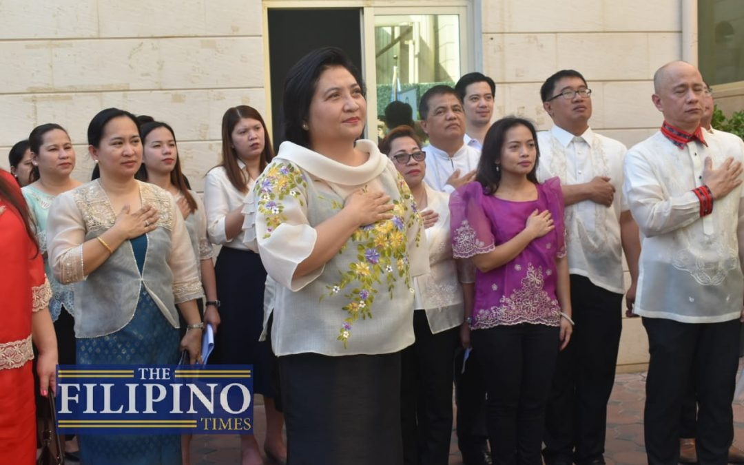 Ambassador Quintana lauds Philippines' enhanced global presence at 121st Philippine Independence Day