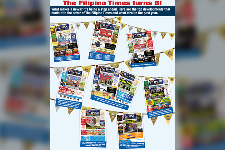 The Filipino Times: Through the years