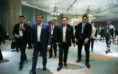 Bong Go serves as 'private adviser' to Duterte in ASEAN Summit
