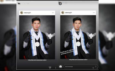 K-Pop star CL congratulates graduating Filipino fan