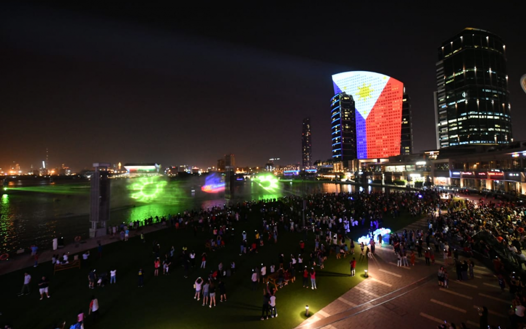 Dubai Festival City Mall's IMAGINE light show: A salute to Filipinos in the UAE