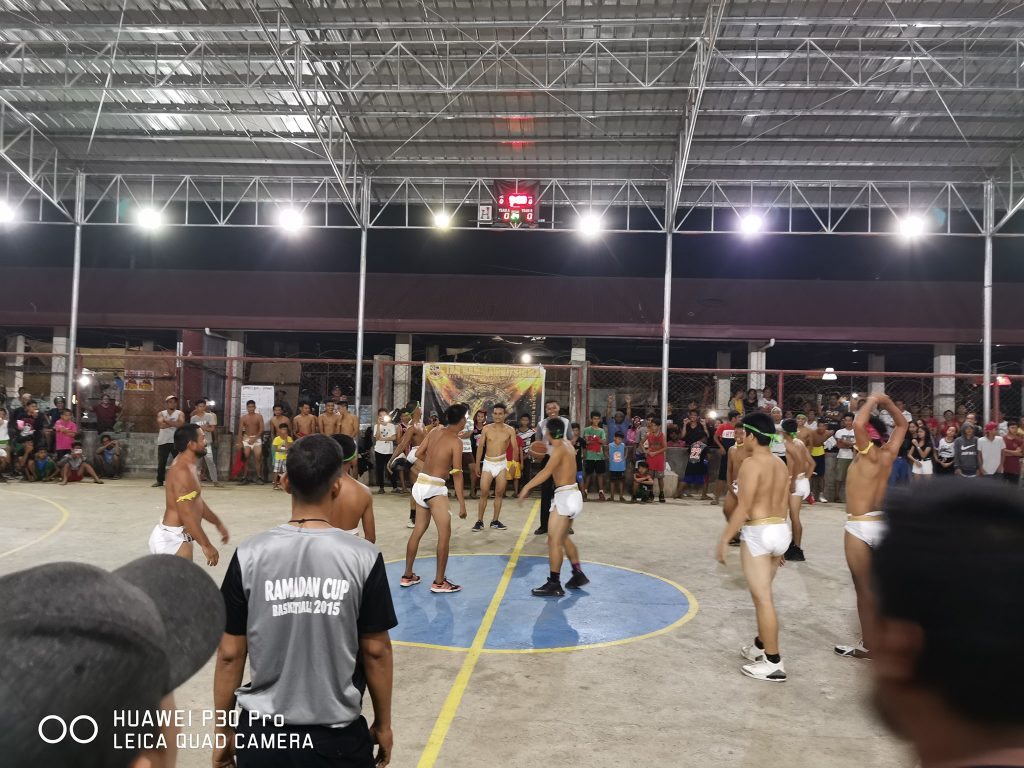 LOOK: Players wear 'diapers' in a basketball game in