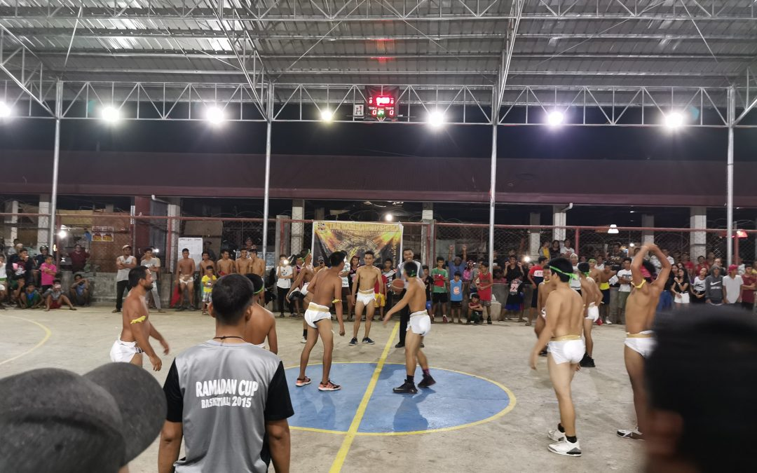 LOOK: Players  wear 'diapers' in a basketball game in Zamboanga
