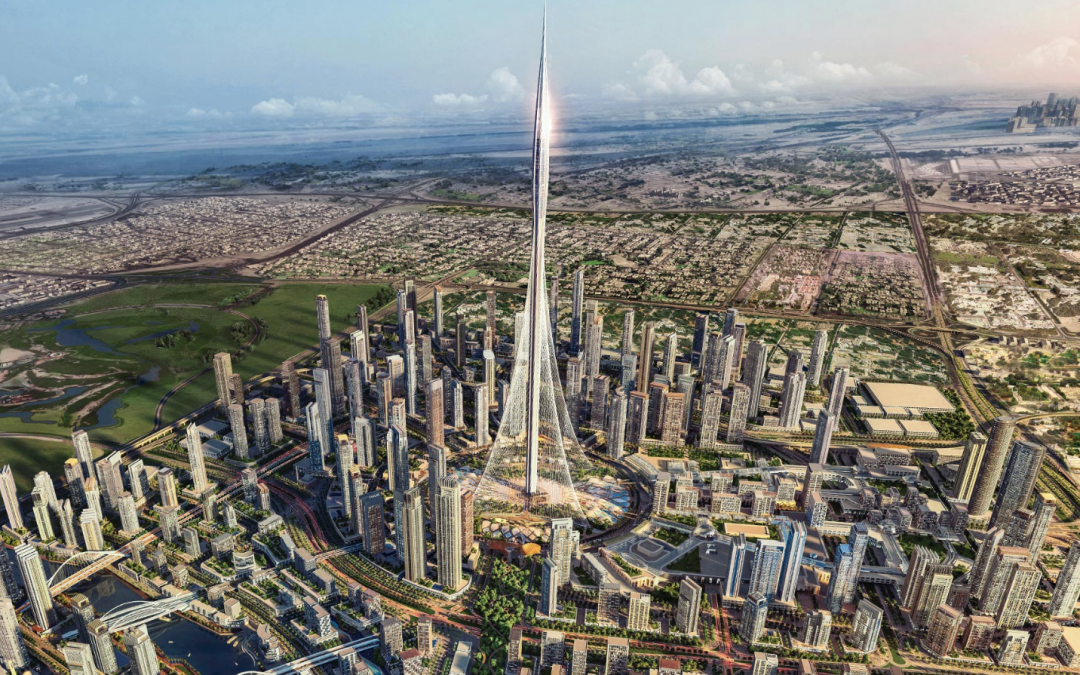 WATCH: Dubai's latest structure poised to beat Burj Khalifa's record as 'world's tallest building'