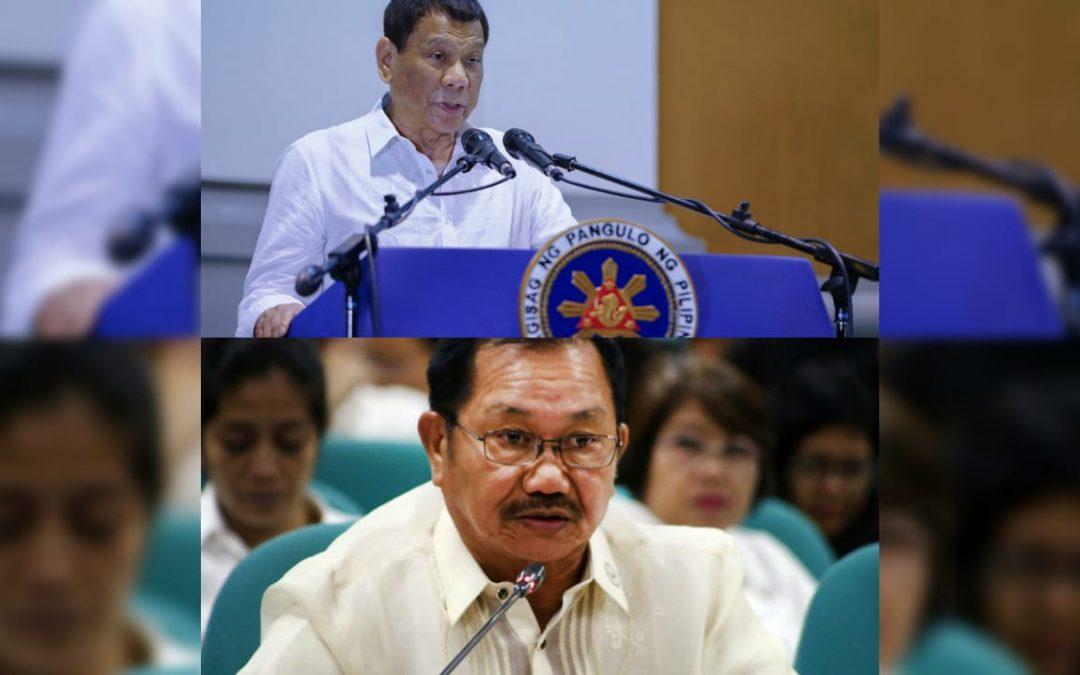 Cabinet revamp soon? Duterte mulling to transfer Manny Piñol