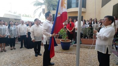 Photo of Solemn flag-raising at Philippine Consulate in Dubai marks opening salvo of Independence Day celebrations