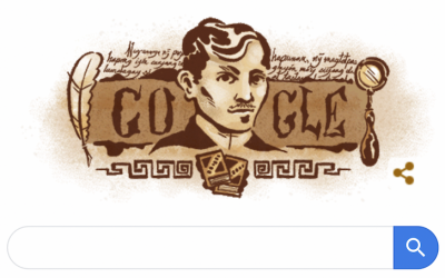 LOOK: Google pays tribute to Jose Rizal on his 158th birthday