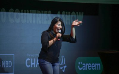 Pinay stand-up comedian keeps Dubai laughin' out loud
