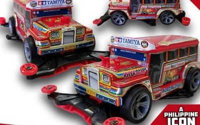 LOOK: New toy racing car model inspired by PH's jeepney