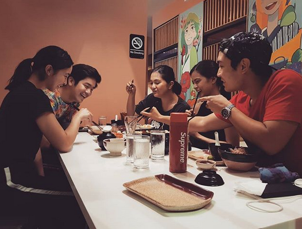Joshua Garcia, Julia Barretto spotted dining together amid break-up rumors