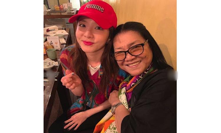 Lolit Solis receives birthday surprise from K-Pop star Sandara Park