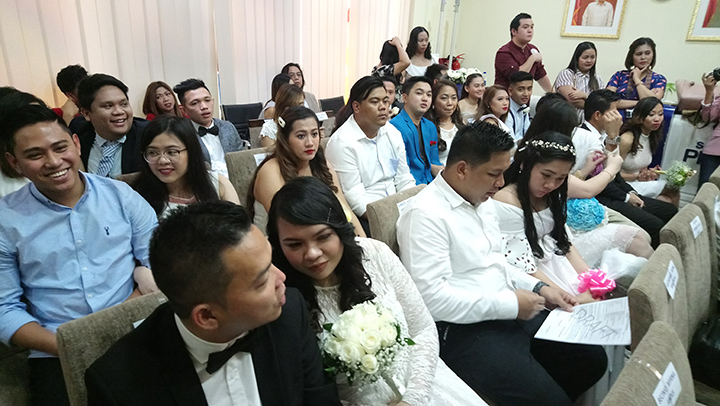 Attitude is not an issue: OFW couples vow to make it through thick and thin
