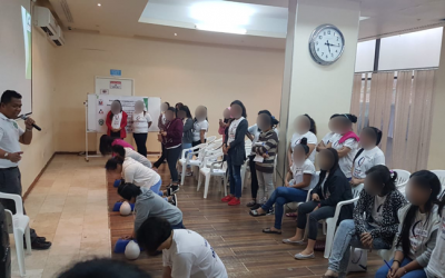 Filipino nurses in Dubai holds caregiver training for distressed OFWs
