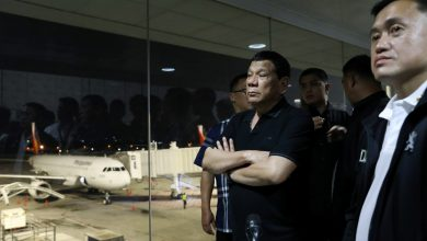 Photo of Duterte conducts surprise inspection at NAIA