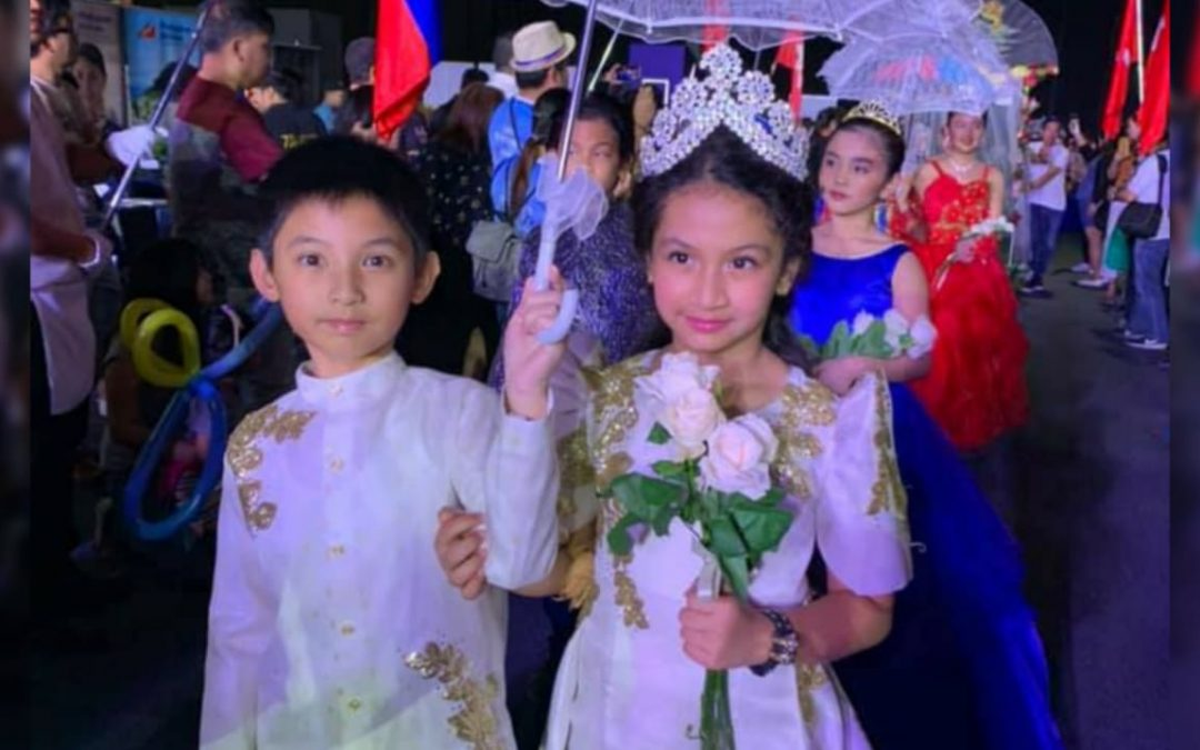 LOOK: Young Filipinos don national costumes at first-ever Santacruzan during Philippine Independence Day celebrations in Dubai