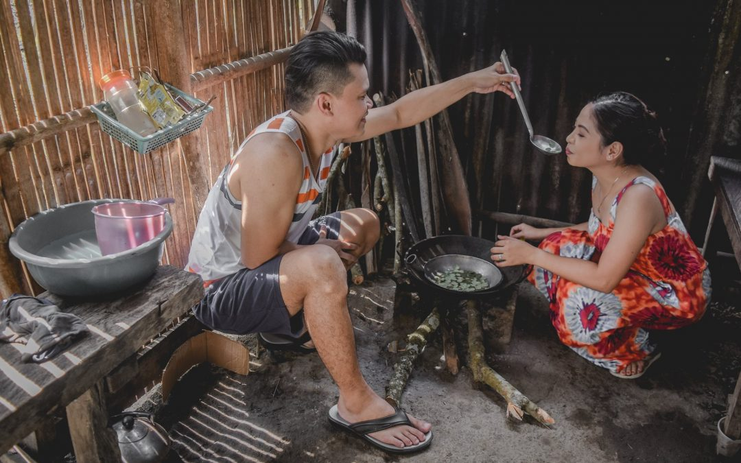 Prenup photos showing simple life, household chores go viral